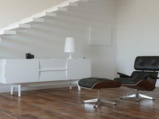 replica moebel - im bild ein charles eames lounge chair ottomane